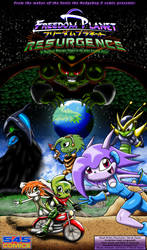 Freedom Planet - Resurgence Comic Scripts Cover by CCI545