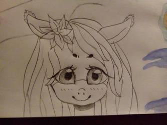 Mlp doodle by Mokadora