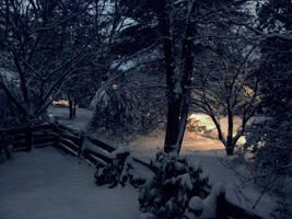 Snow Scene by GregoriusU