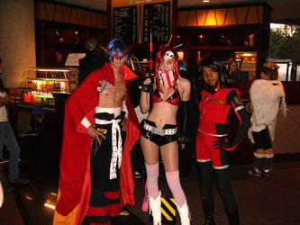 Anime USA 2008 Cosplayers 4 by GregoriusU