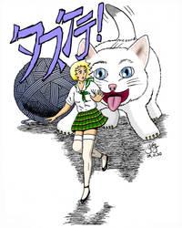 Animebabes-4: Kitty Toy by GregoriusU