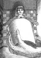 Sketch for Hanako-san by GregoriusU