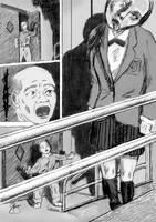 HANAKO-SAN p176--hanging ghost by GregoriusU