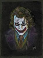 Heath Ledger as The Joker by GregoriusU