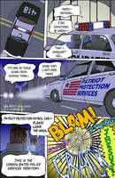 Revolutionary Grrl Page 4: Rival Police forces? by GregoriusU