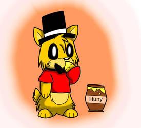FNaF: Winnie the Fazbear by Pikachugirl345