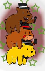 We Bare Fazbears! by Pikachugirl345