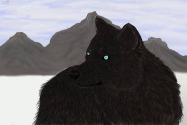 Wolfie by saffulizardi