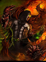BECOMING SPAWN by CarlosDattoliArt