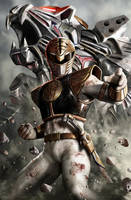 White Ranger by CarlosDattoliArt