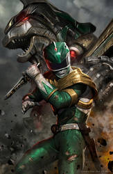 The Green Ranger by CarlosDattoliArt