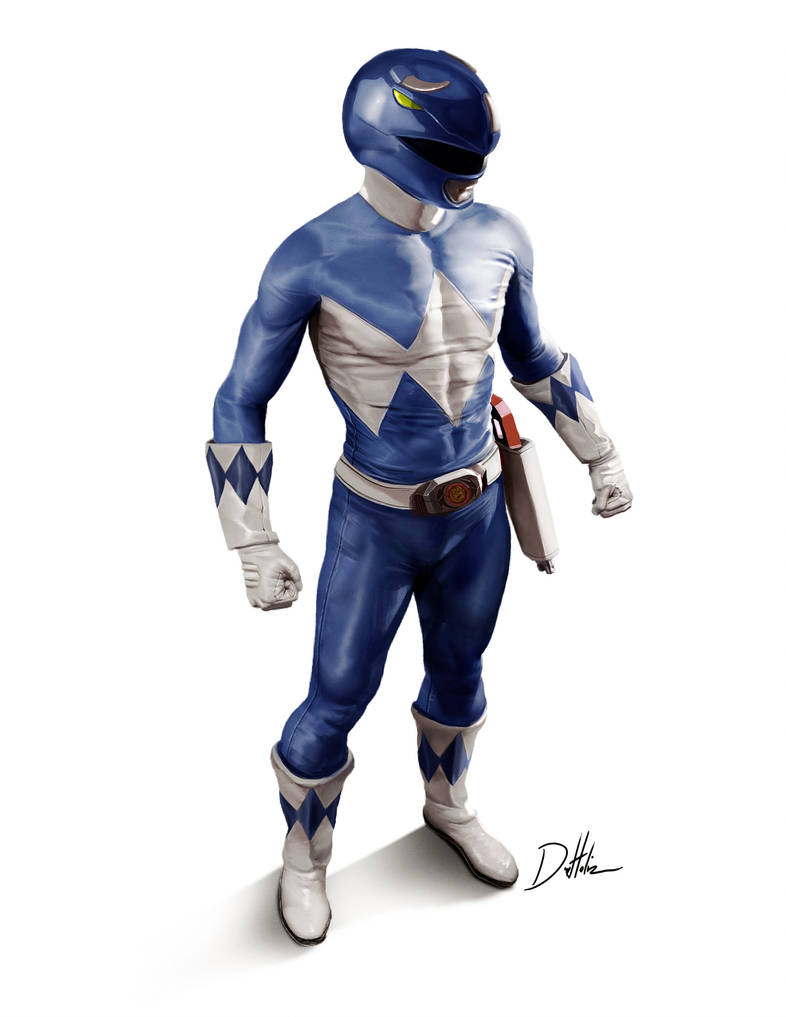 Blue Ranger by CarlosDattoliArt