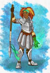 RPG Characters - Kelea by BlueNephelim