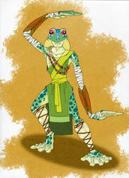 RPG Characters - Kermit by BlueNephelim