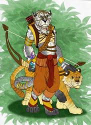 RPG Characters - Xassa by BlueNephelim