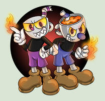 Demon Brothers by TanjatheBat