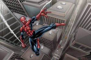 The Amazing Spider-Man by Brian-Robertson