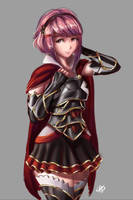 COMMISSION - Nohrian Princess Sakura by itftjte