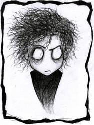 Tim Burton by Vanilca