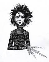 Edward Scissorhands by Vanilca