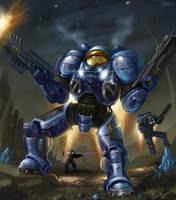 Terran invasion by GansOne89