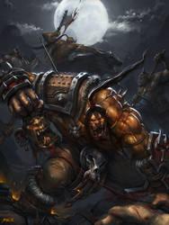 The wrath of Grommash by GansOne89