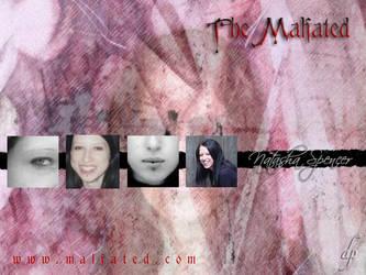 'Natasha Spencer' Wallpaper by malfated