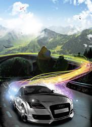 SpeedingCar by Sm00th-Cr1m1nal