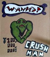 Crush Man by cicadamarionette