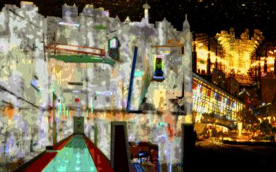 City by cicadamarionette