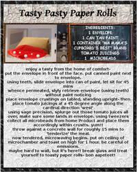 Yum Yum!! With Lily's Corner: Tasty Paper Rolls by cicadamarionette