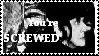 You're SCREWED stamp by Sahkmet