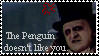The Penguin Hates Stamp by Sahkmet