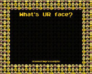 Deviant Icon Faces by I-IyperMango
