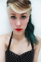 pin-up inspired hair and makeup by chelsea-martin