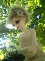 Elf in a Tree by Broken-Silver-Locket
