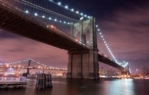 Brooklyn Bridge by LGMVMNT-PHOTO