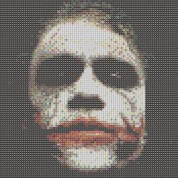 Joker perler pattern #6 by pjurst