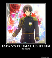 Japan's Formal Uniform by tabbycat1212