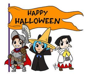 Oriyan--Happy Halloween 2009 by ketari