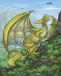 Dragon Commission by ketari