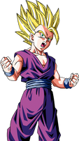 DB Raging Blast 2 - SSJ2 Teen Gohan by UltimateSSJSonGokou4