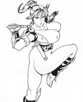 Soul Calibur II Taki by Izanagi-0XXI