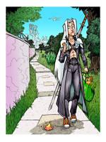 Sephiroth's Day Off 2 by gypsygirlpress
