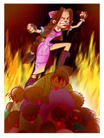 Aerith Loses It by gypsygirlpress