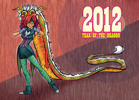 Year of the Dragon by gypsygirlpress
