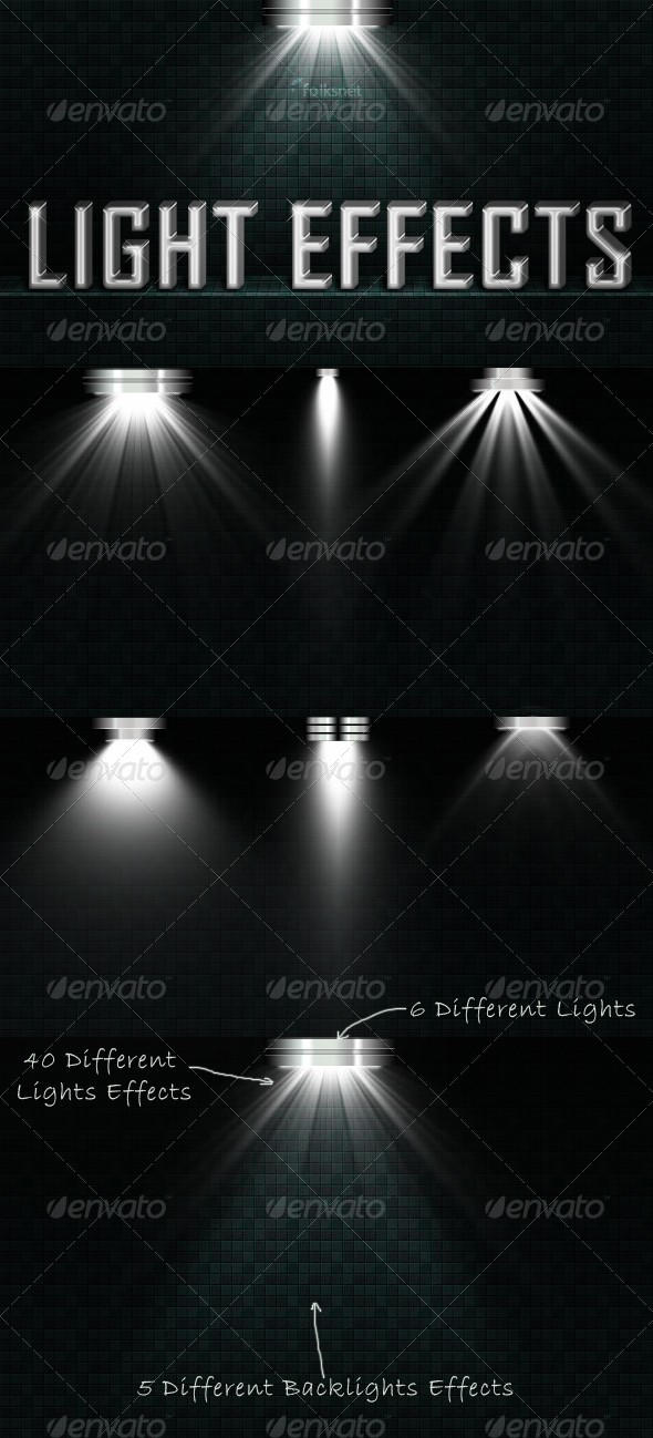 Light Effects Set 2 by GrDezign