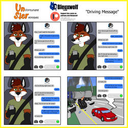 UnSter 30 - Driving Message by Bleuxwolf