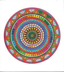 Mandala (not original) by Rompercors
