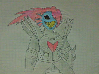 Undyne The Undying by Rompercors